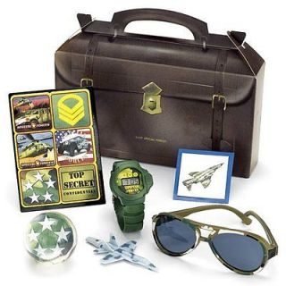 Special Forces Military Air Force Birthday Favor Box Kits
