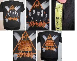 Def Leppard concert t shirt (02)   NEVER WORN
