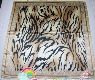 NEW Stylish Silky Prints Square Scarf Shawl Wrap Bandana 35 x 35