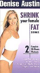 Denise Austin   Shrink Your Female Fat Zones VHS, 2003