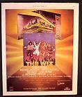 1978 DIANA ROSS & MICHAEL JACKSON THE WIZ SOUNDTRACK ALBUM PROMO AD