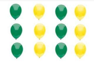 JOHN DEERE LIKE Green Yellow latex balloons birthday shower baby