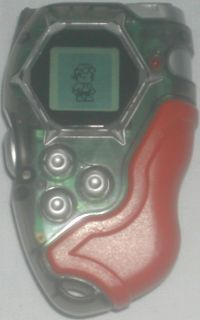 Bandai Digimon Digivice D Tector Red & Transparent 2002