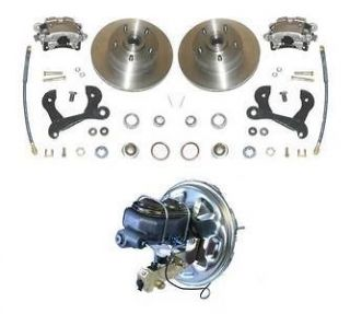 65 70 Chevy Full Size Power Disc Brake Conversion Kit (Fits Impala)