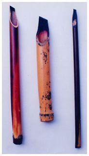 3XCalligraphy Reed pen Qalam Kalam bamboo pen arabic urdu farsi