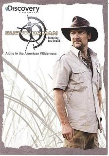 The Discovery Channel   Survivorman Alone In The Wilderness DVD, Men