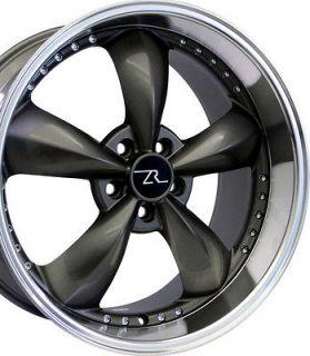 Motorsport Wheels 20x8.5 & 20x10 20 inch Deep Dish fits Mustang