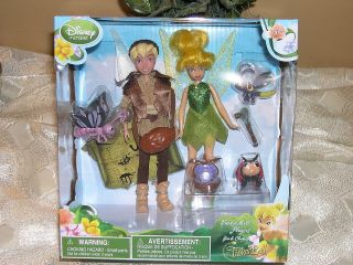 Disney Playset Tinker Bell & Terence Dolls & Friends 10 Piece Includes