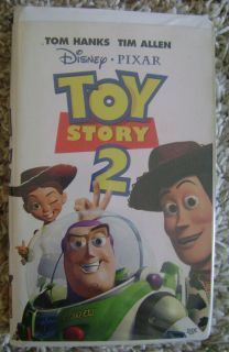 Disney Pixar Toy Story 2 VHS Movie