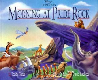 Disneys The Lion King  Morning at Pride Rock by Teddy Slater (1994