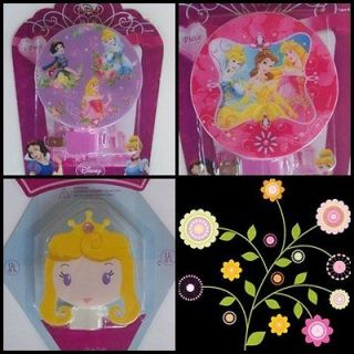 Disney Princess Night Light Aurora Snow White Cinderella Bella Purple