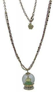Disney Couture Icon Snow White Snow Globe Necklace