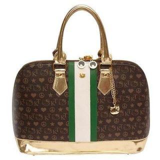 Hello Kitty Funky Divas Large Tote Hand Shoulder Bag Handbag Purse