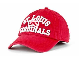 St Louis Cardinals 47 Brand STL Medium Size Hat Cap Relaxed Slouch