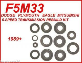 SPEED MANUAL TRANSMISSION REBUILD KIT MITSUBISHI DODGE EAGLE FITS 89