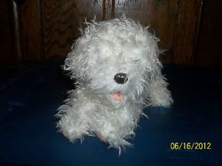 TIGER ELECTRONICS FURREAL WHITE TEACUP POODLE MALTESE PUPPY DOG PLUSH