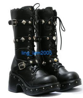 KERA Sweet DOLLY gothic Lolita BOOTS GOTH Shoes 5.5 11