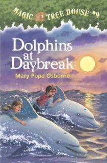 Dolphins at Daybreak No. 9 by Mary Pope Osborne 1997, Paperback