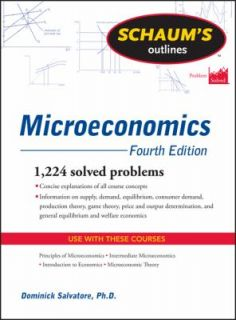 Microeconomics by Dominick Salvatore 2011, Paperback