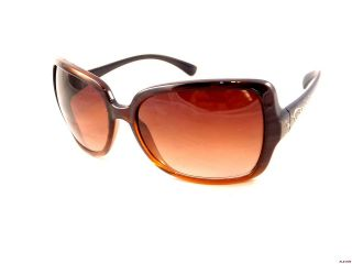 fc8f883cc84 ... Oscar De La Renta Womens Designer Fashion Brown Oversize Sunglasses   GUCCI GG 1486 S AR7 59 15 120 OPTYL AUTHENTIC SUNGLASSES MADE IN ITALY ...