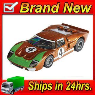 Ford GT40 MKII LeMans Mark Donohue HO Slot Car MegaG Mega G Chassis aw