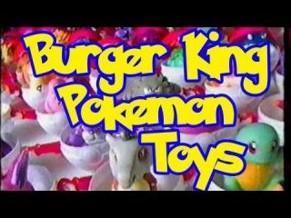 1999 Burger King Kids Meal Nintendo Pokemon w/ Pokeball ~ List 1/2