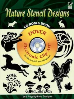 Nature Stencil Designs by Dover Publications Inc. Staff 2002