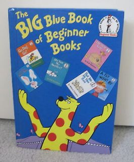 DR. SEUSS THE BIG BLUE BOOK OF BEGINNER BOOKS 6 STORIES HARDCOVER