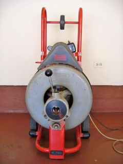 Ridgid K6800 Sewer Drain Cleaner Machine Many Attachments