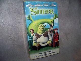 cd2278228181 DreamWorks  Shrek VHS on PopScreen
