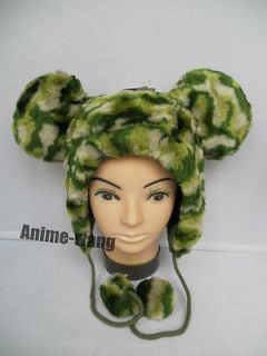 Newly listed Rare DISNEY WORLD MICKEY MOUSE Camouflage Plush Hat Cap