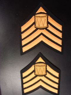 Canadian Army Drum Major Rank Drummer Rank Insignia