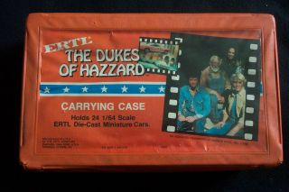 VINTAGE 80s ERTL THE DUKES OF HAZZARD CARRYING CASE