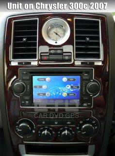 ETO Car DVD Player GPS Sat Nav iPod After market Stereo Chrysler Dodge
