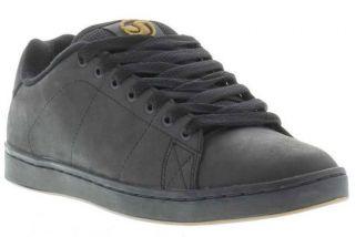 DVS Shoes Genuine Gavin 2 Mens Black Skate Shoes Sizes UK 7   13
