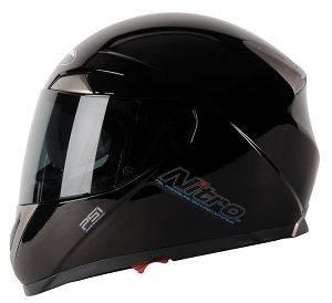 NITRO NPSI PUMP DVS   Black   Full Face Motorcycle Helmet   XL Extra
