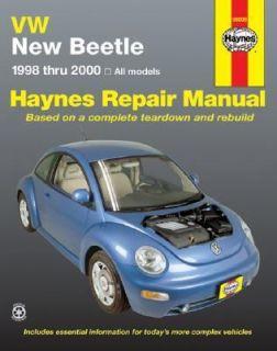 VW Beetle, 1998 2000 by J. H. Haynes and Bob Henderson 2000, Paperback