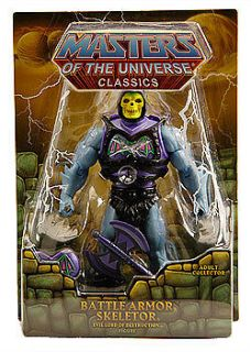He Man Classics Masters of the Universe Battle Armor Skeletor T5805