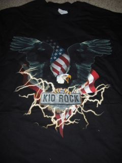 KID ROCK Eagle Live 2001 Tour T Shirt **NEW