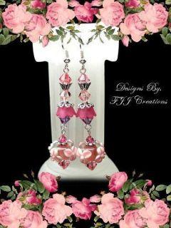 ~Sister~In Law~Best Friend~Earrings~Poem~Jewelry Gift~Lampwork~A6