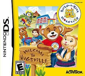 Build A Bear Workshop Welcome to Hugsville (Nintendo DS, 2010) (2010