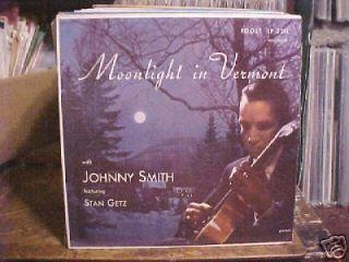 1956 JAZZ JOHNNY SMITH QUINTET W/ STAN GETZ ROOST 2211