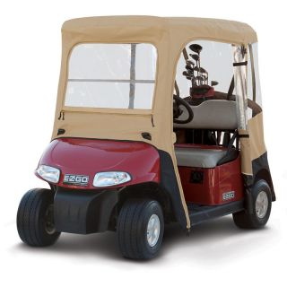 EZ Go Golf Cart Enclosure Custom Fit   2 Person Car
