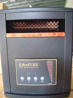 NEW EDENPURE 2011 GEN 3 1000 INFRARED ELECTRIC HEATER FACTORY SEALED