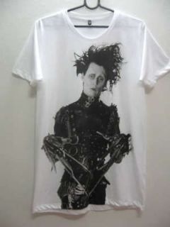 Johnny Depp Edward Scissorhands Movie Rock T Shirt XL