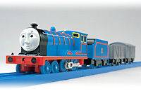 Tomy TRACKMASTER Thomas & Friends Edward MOTORIZED with 2 carry car