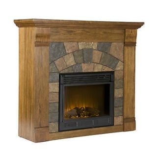 oak electric fireplace in Fireplaces & Stoves