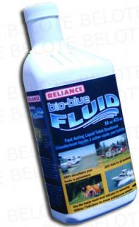 Reliance Bio Blue Toilet Deodarant 16oz Fluid 2616 03