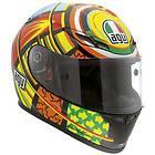AGV GP Tech Elements Valentino Rossi Replica Motorcycle Helmet Small