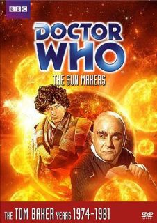 DOCTOR WHO: THE SUN MAKERS (2011 DVD)/TOM BAKER/FULL SCR​EEN/SEALED!